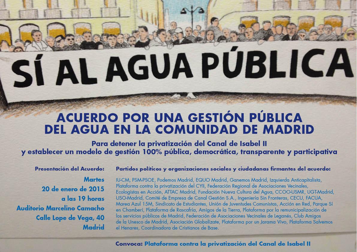 Resultado de imagen de Gestión del Agua de Titularidad Pública.